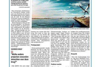 Is een Scheldebrug, een nieuw landmark, de beste keuze?