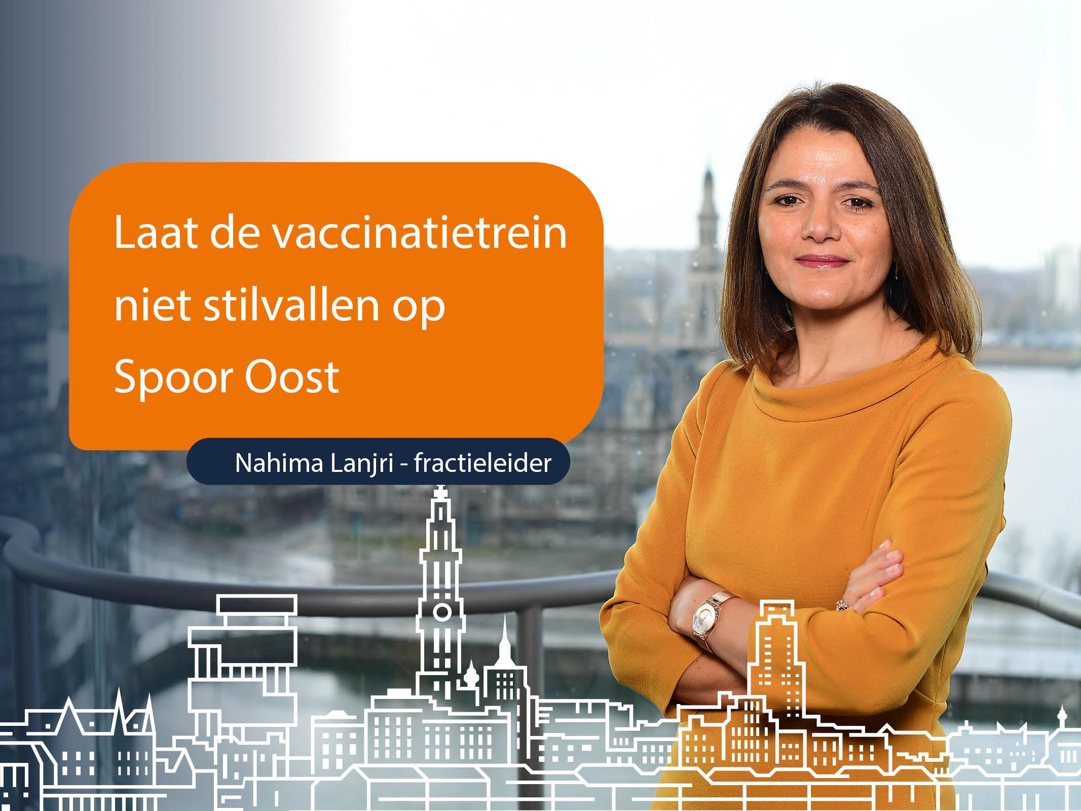 De vaccinatietrein op Spoor Oost mag niet stilvallen