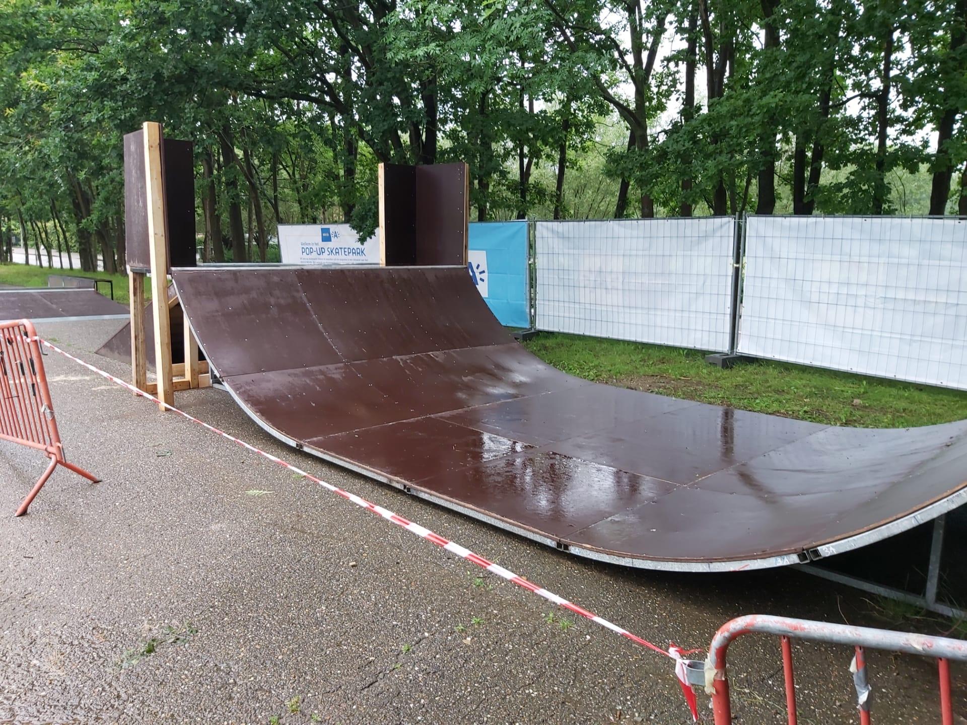 Wilrijk pakt tijdens zomermaanden uit met pop-up skatepark